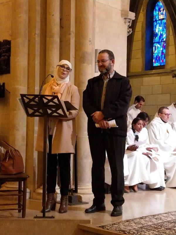 Diocèse de Nevers : aboutissement de l'année mariale, des musulmans témoignent dans une église !