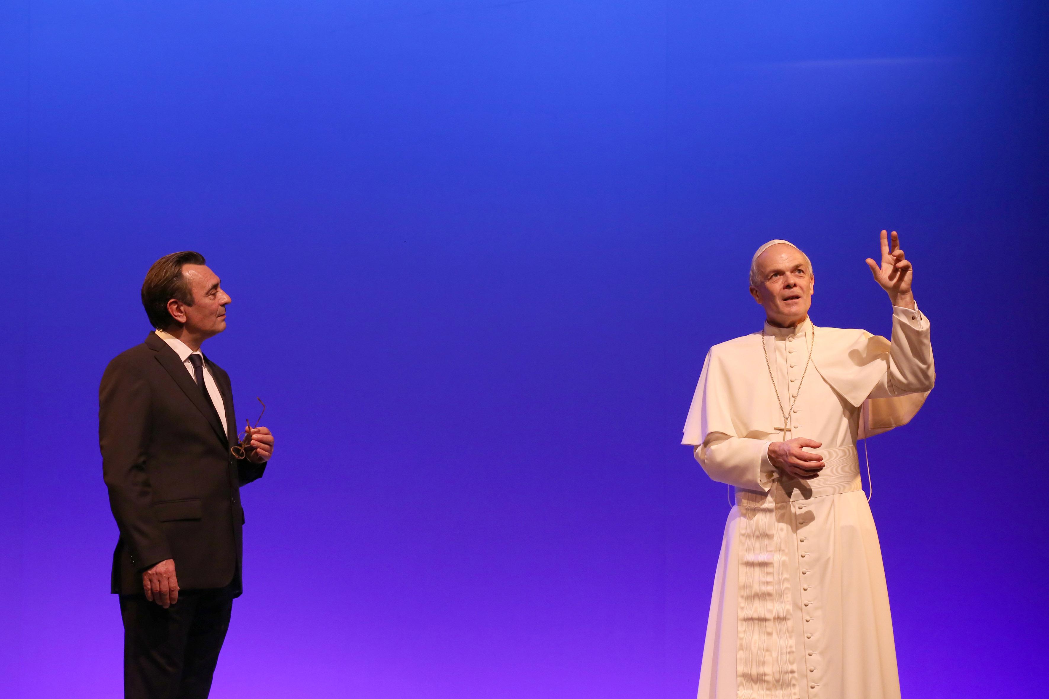 Théâtre «Jean-Paul II – Antoine Vitez: dialogue à Castel Gandolfo» le 7 décembre 2018 à Albi (81)