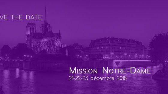 Mission Notre-Dame jusqu'au 23 décembre 2018 à Paris