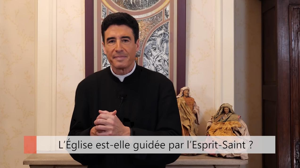 """Deux minutes pour vous #37 – Père Michel-Marie Zanotti-Sorkine – """"L'Église est-elle guidée par l'Esprit-Saint?"""""""