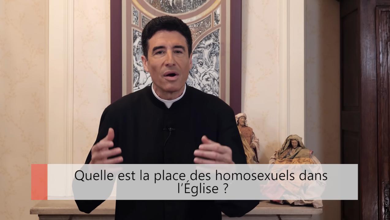 """Deux minutes pour vous #38 – Père Michel-Marie Zanotti-Sorkine – """"Quelle est la place des homosexuels dans l'Église?"""""""