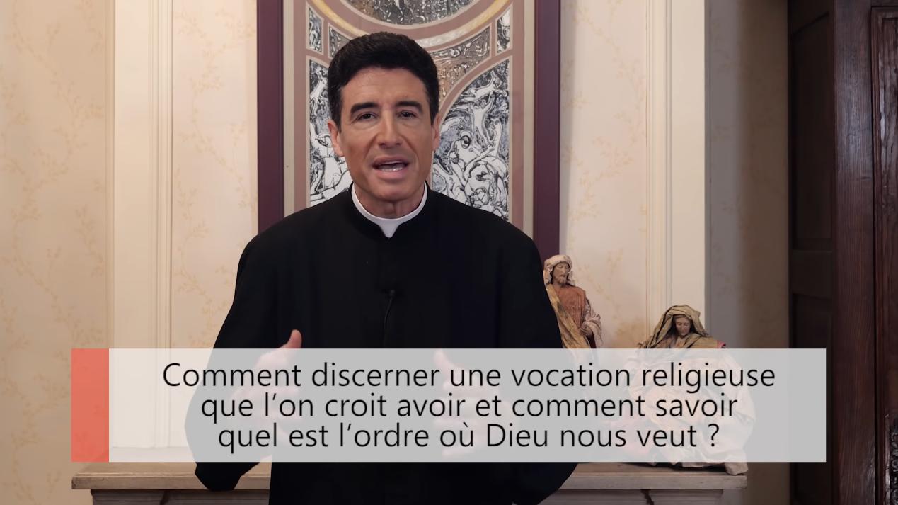 """Deux minutes pour vous #40 – Père Michel-Marie Zanotti-Sorkine – """"Comment discerner une vocation religieuse que l'on croit avoir et comment savoir quel est l'ordre où Dieu nous veut?"""""""