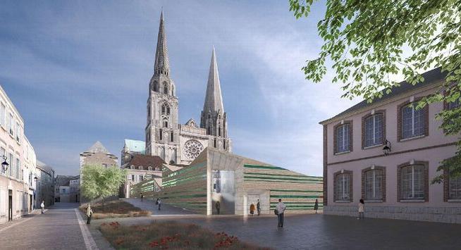 Une pétition contre le projet d'aménagement sur le parvis de la cathédrale de Chartres