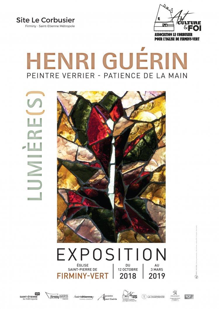 Firminy-Vert (42): Exposition de Henri Guérin, peintre verrier – jusqu'au 3 mars 2019