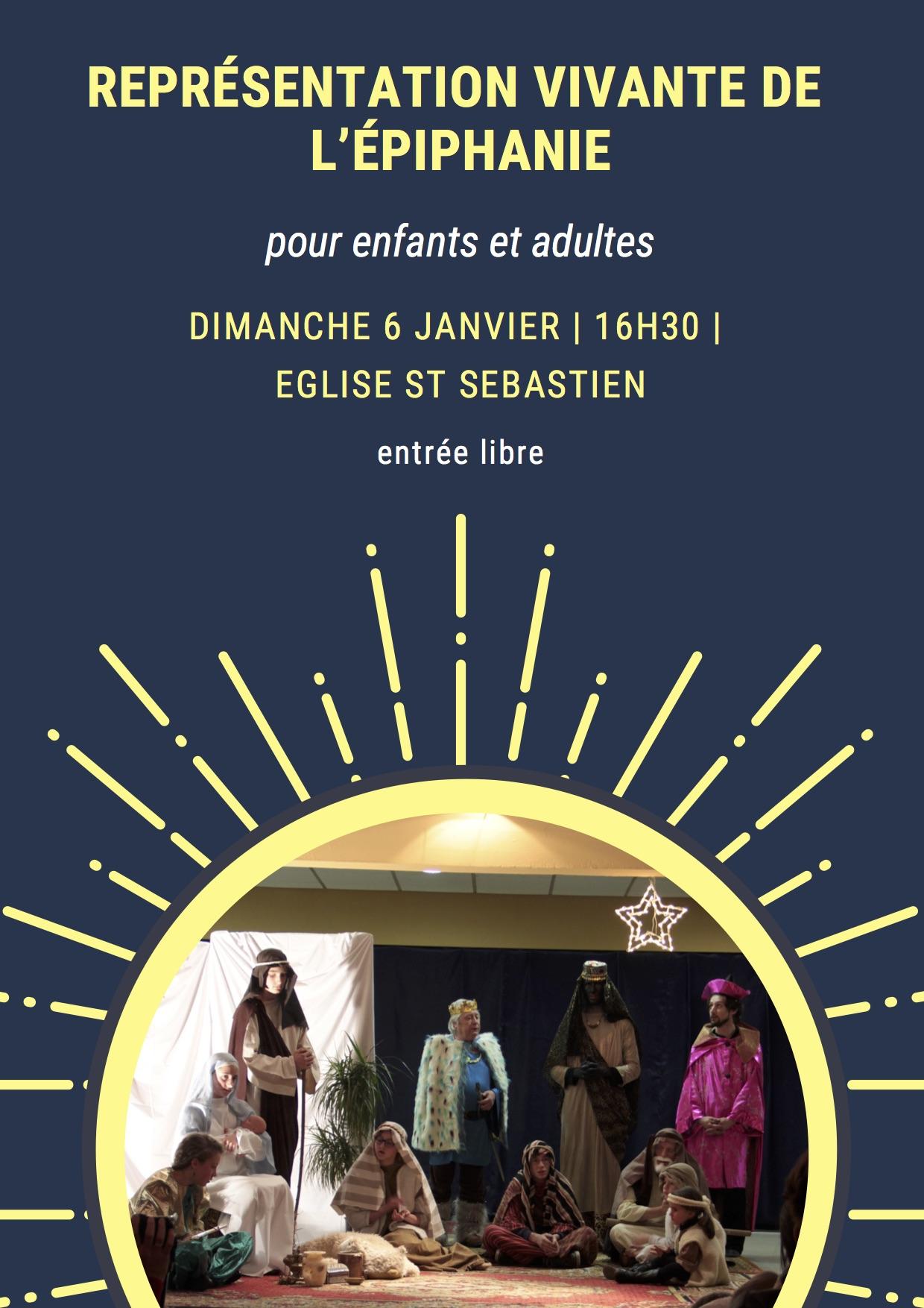 Oratorio de l'Épiphanie le 6 janvier 2019 à Nancy (54)