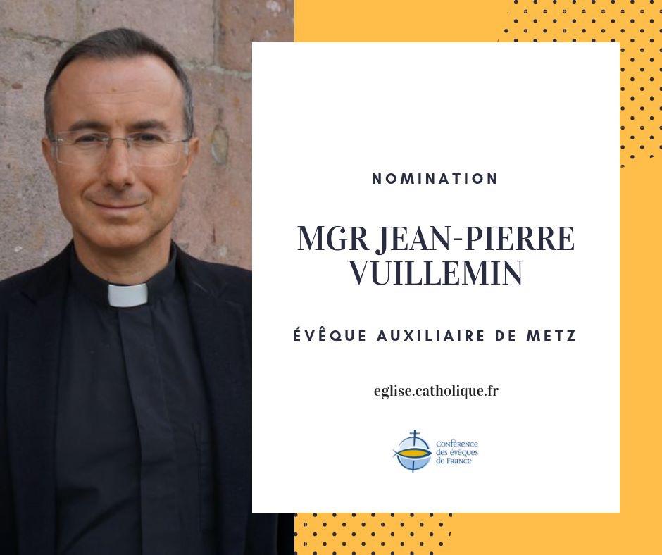 Metz: nomination d'un évêque auxiliaire