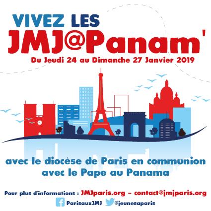 Vivez les JMJ @ Panam' du 24 au 27 janvier 2019