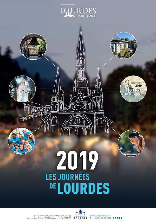 Journées de Lourdes (65) 2019: «Heureux vous les pauvres» du 9 au 11 février 2019