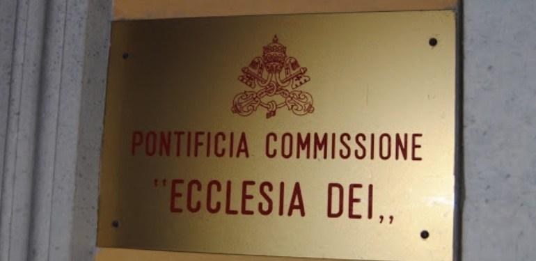 Suppression de la commission Ecclesia Dei