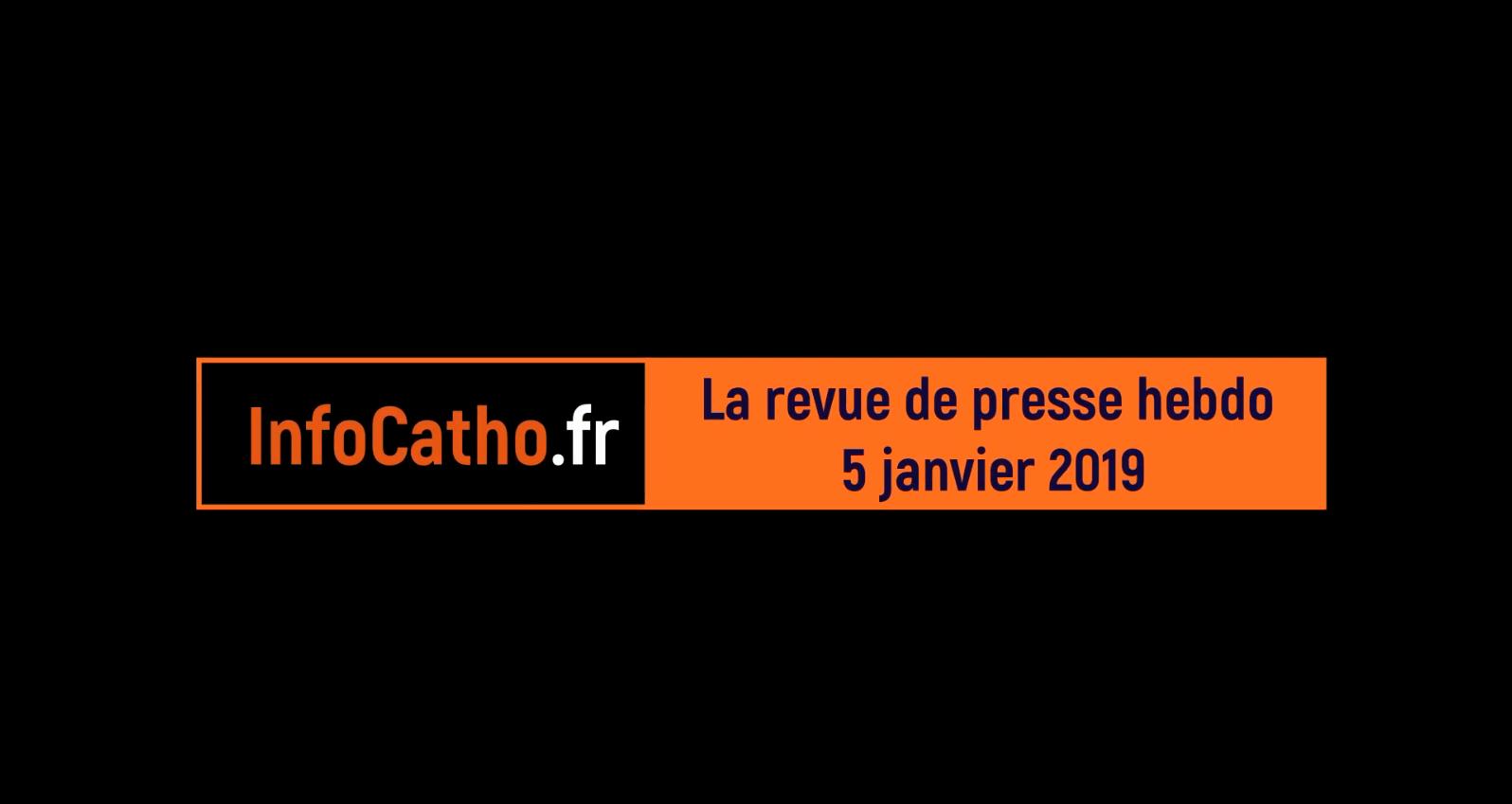 Revue de presse internationale catholique du 5 janvier