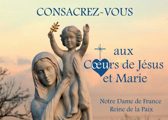 Consécration aux Coeurs de Jésus et Marie