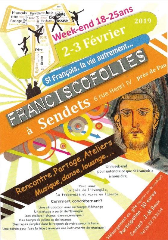 """Les premières """"franciscofolies"""" les 2 & 3 février 2019 à Sendets (64)"""