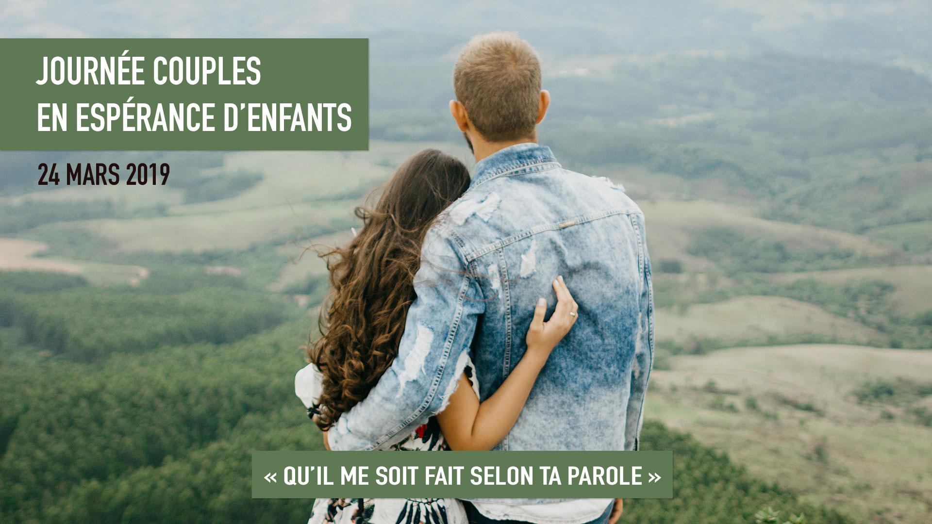 Journée couples en espérance d'enfants le 24 mars 2019 à Alençon (61)