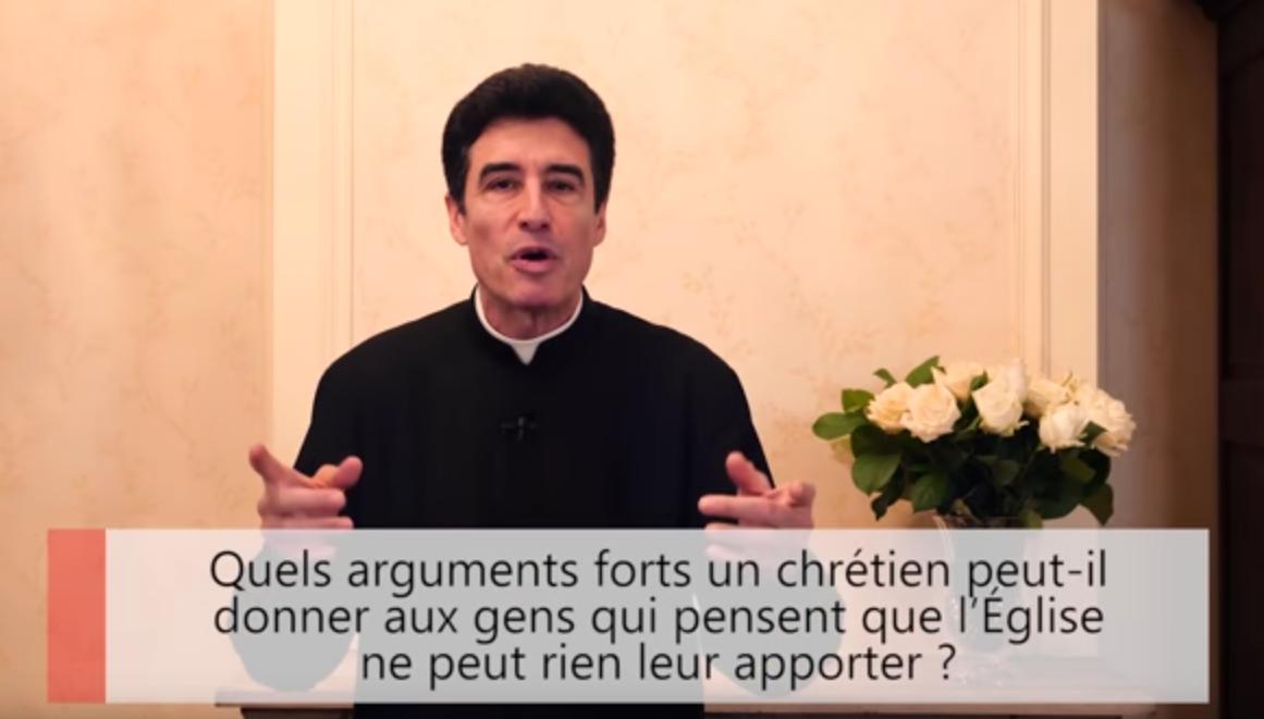 """Deux minutes pour vous #42 – Père Michel-Marie Zanotti-Sorkine – """"Quels arguments forts un chrétien peut-il donner aux gens qui pensent que l'Église ne peut rien leur apporter?"""""""