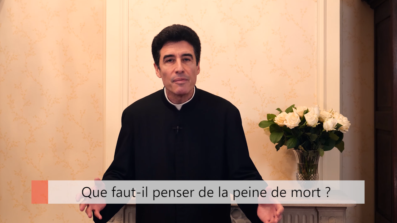 """Deux minutes pour vous #45 – Père Michel-Marie Zanotti-Sorkine – """"Que faut-il penser de la peine de mort?"""""""