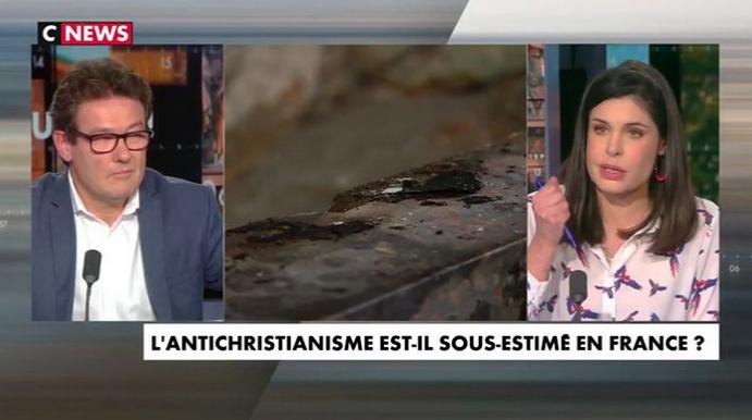 """Ch. d'Ornellas: """"On ne peut pas relativiser les profanations quand c'est seulement pour les chrétiens…"""""""