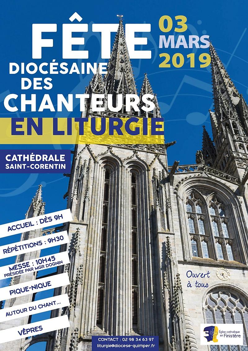 Fête diocésaine des chanteurs en liturgie le 3 mars 2019 à Quimper (29)