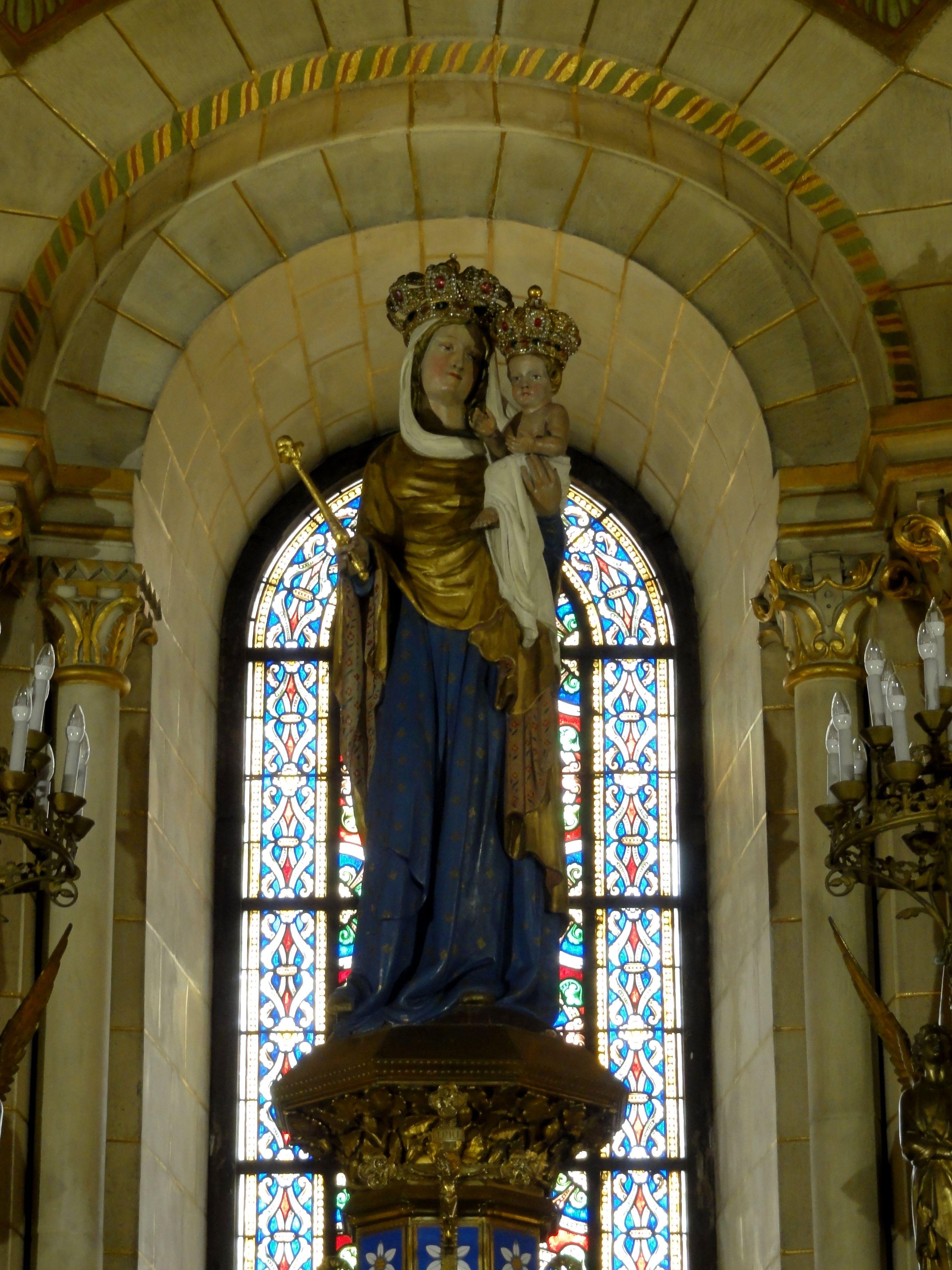 Jubilé des 50 ans de Notre-Dame de Bonne-Garde à Longpont (91) le 24 mars 2019