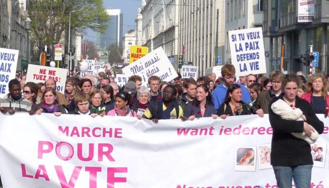 La Marche pour la vie à Bruxelles: 31 mars 2019