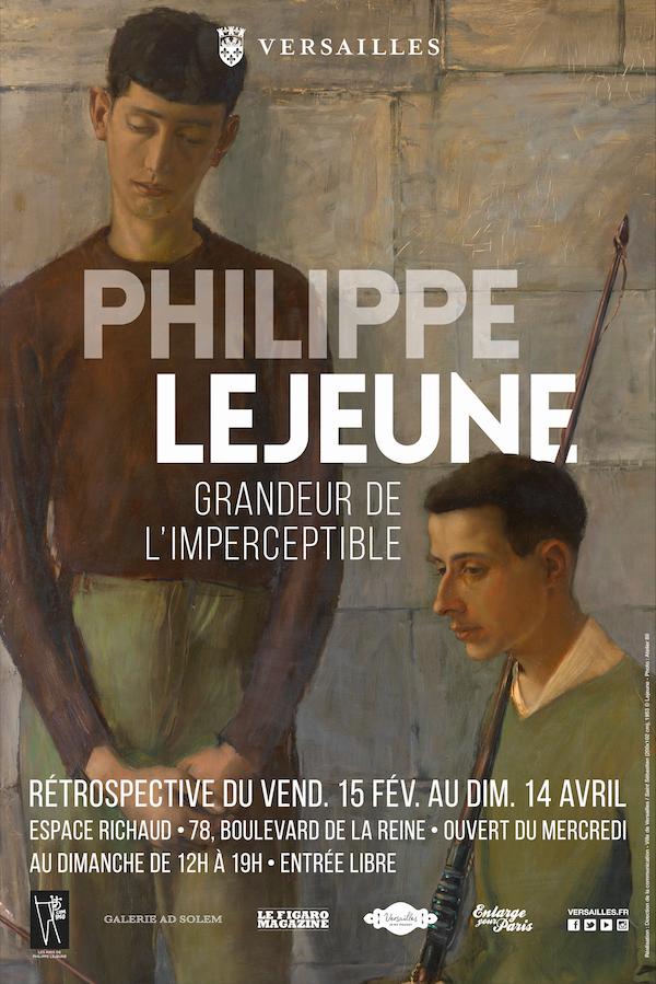 Philippe Lejeune – Grandeur de l'imperceptible – Exposition du 15 février au 14 avril 2019 à Versailles (78)