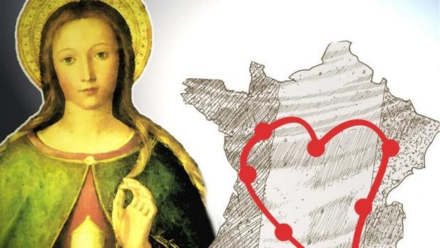 Venue des reliques de sainte Marie-Madeleine le 12 février 2019 à Rouen (76)