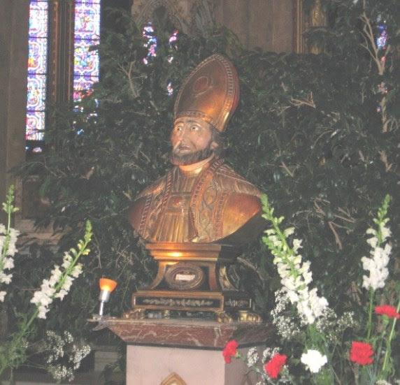 Messe de la Saint Léon à la cathédrale de Bayonne (64) le 3 mars 2019