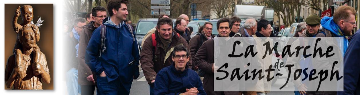 """""""Marche de Saint-Joseph"""", pèlerinage des pères de famille à Paris le 16 mars 2019"""