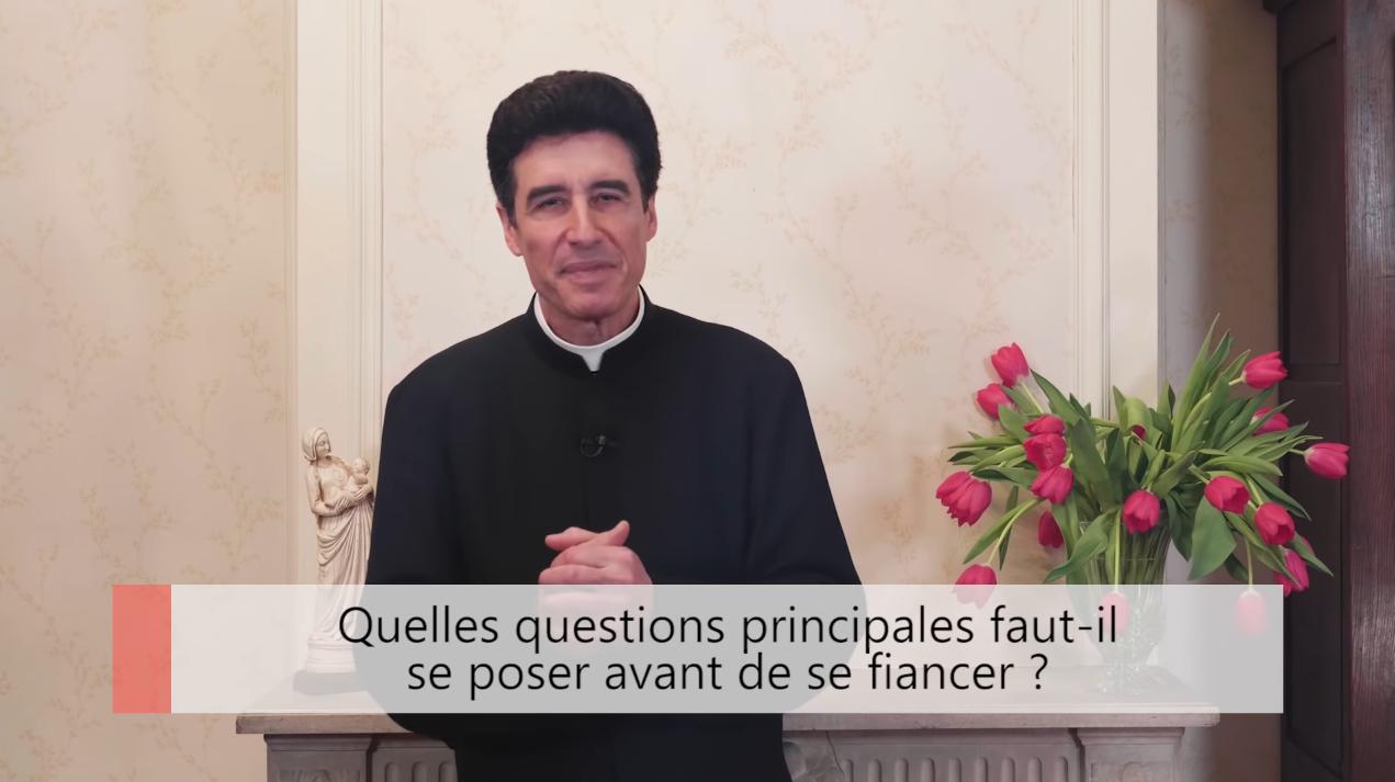 """Deux minutes pour vous #48 – Père Michel-Marie Zanotti-Sorkine – """"Quelles questions principales faut-il se poser avant de se fiancer?"""""""