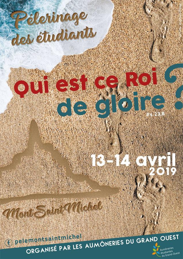 13 et 14 avril 2019: Pèlerinage des Étudiants du grand ouest au Mont-Saint-Michel (50)