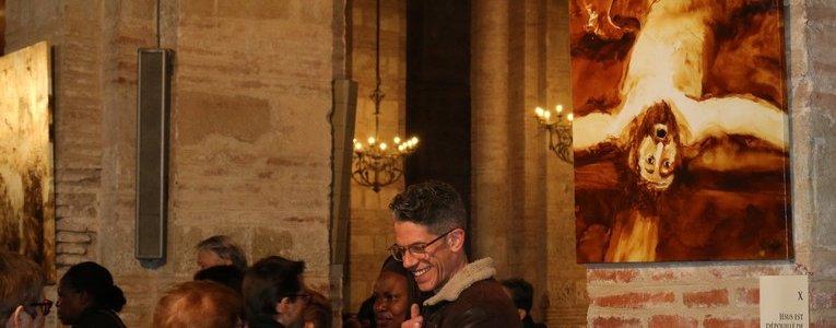 Un Chemin de Croix… en peinture et en poésie par François-Xavier de Boissoudy & Jean-Pierre Denis, à Toulouse (31) jusqu'au 21 avril 2019