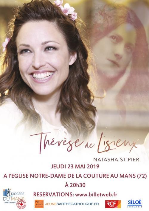 Concert de Natasha St-Pier le 23 mai 2019 au Mans (72)!