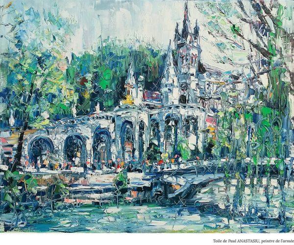 Le 60è pèlerinage militaire international de Lourdes vu par les peintres des armées - Exposition du 13 au 17 mars à Paris