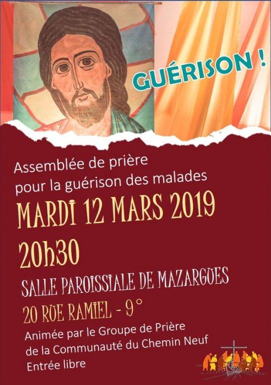 Assemblée de prière pour la guérison des malades le 12 mars 2019 à Marseille (13)
