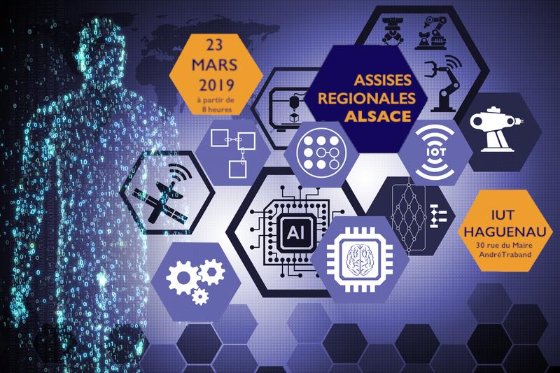 Assises Régionales Alsace EDC: Dirigeant d'entreprise dans un monde digitalisé – le 23 mars 2019 à Haguenau (67)