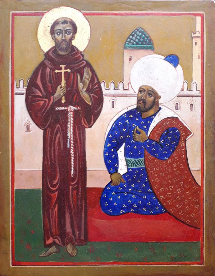 13 mars 2019: le 8e centenaire de la rencontre entre Saint François et le Sultan – Nantes (44)