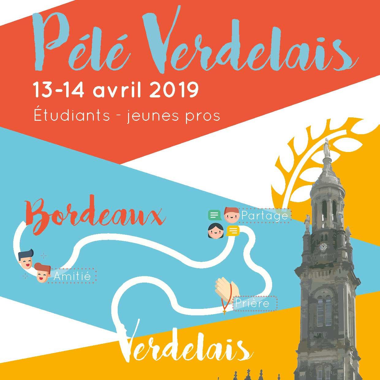 Pèlerinage des étudiants et jeunes professionnels Bordeaux (33)-Verdelais les 13 & 14 avril 2019