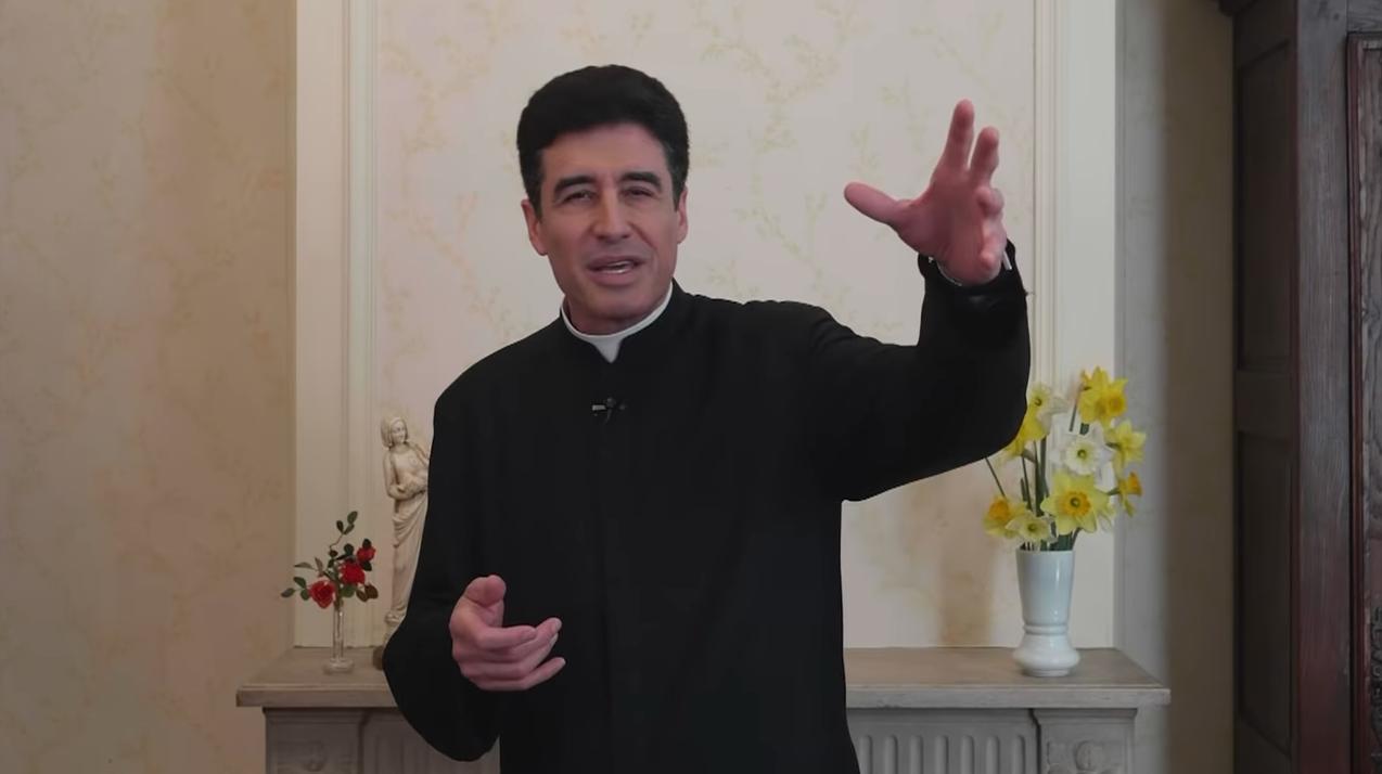 """Prédication du père Michel-Marie Zanotti-Sorkine du 28 avril 2019 – """"Jésus nous veut libre, et c'est pourquoi il a inventé la confession"""""""