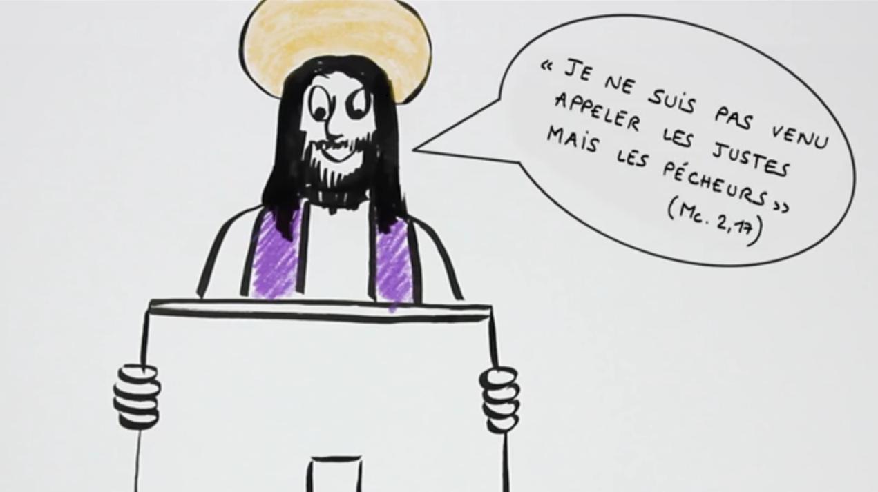 Une web-série sur la confession