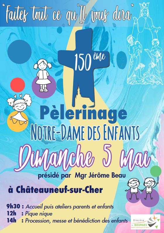150e Pèlerinage à Notre-Dame des Enfants le 5 mai 2019 à Châteauneuf-sur-Cher (18)