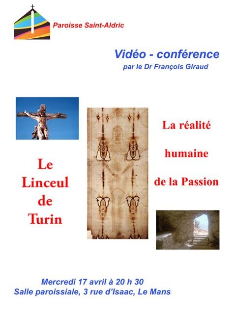 La réalité humaine de la passion – 17 avril 2019 au Mans (72)