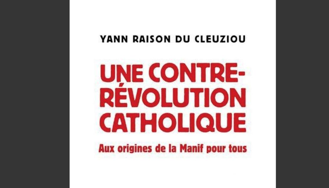 """Présentation du livre """"Une contre-révolution catholique"""" par Yann Raison du Cleuziou le 8 avril 2019 à Bordeaux (33)"""