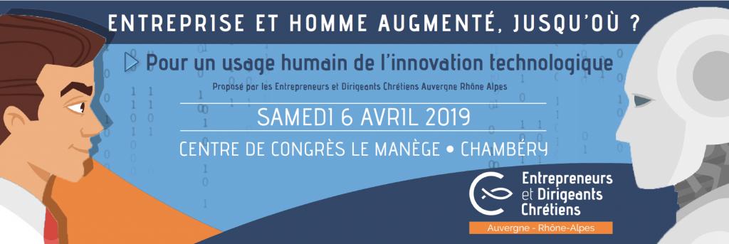 Entreprise et Homme augmenté le 6 avril 2019 à Chambéry (73)