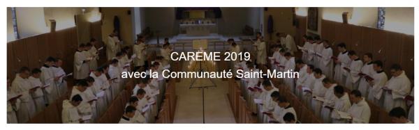 Méditation de carême avec un séminariste de la Communauté Saint-Martin