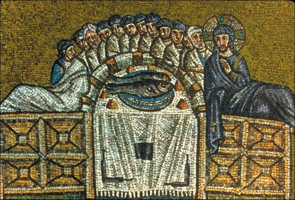 Saint Jean Chrysostome – Jésus fait préparer  le repas de  la Pâque