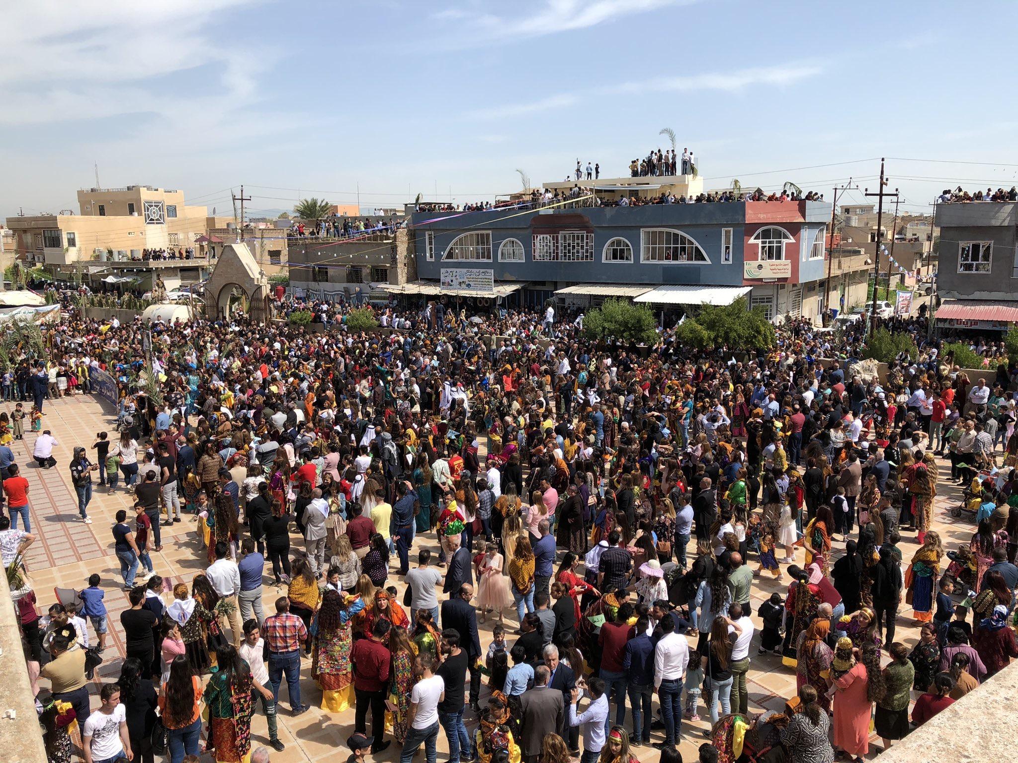 Irak – Dimanche des Rameaux à Qaraqosh