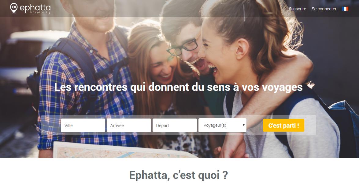 Ephatta, un réseau de voyageur au service du bien commun