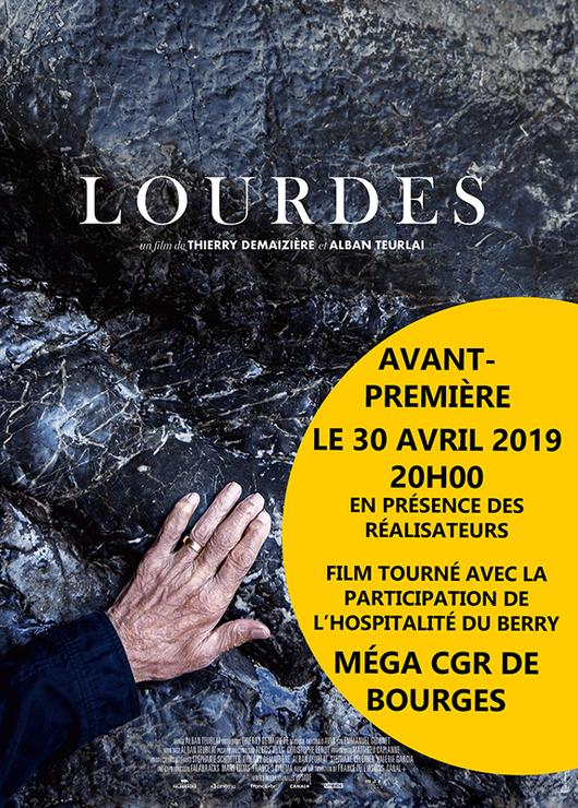 Avant première du film Lourdes – le 30 avril 2019 à Bourges (18)
