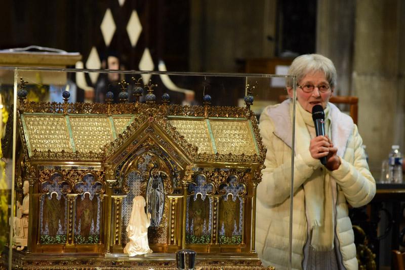 La 70e miraculée de Lourdes à Laval (53) le 6 avril 2019