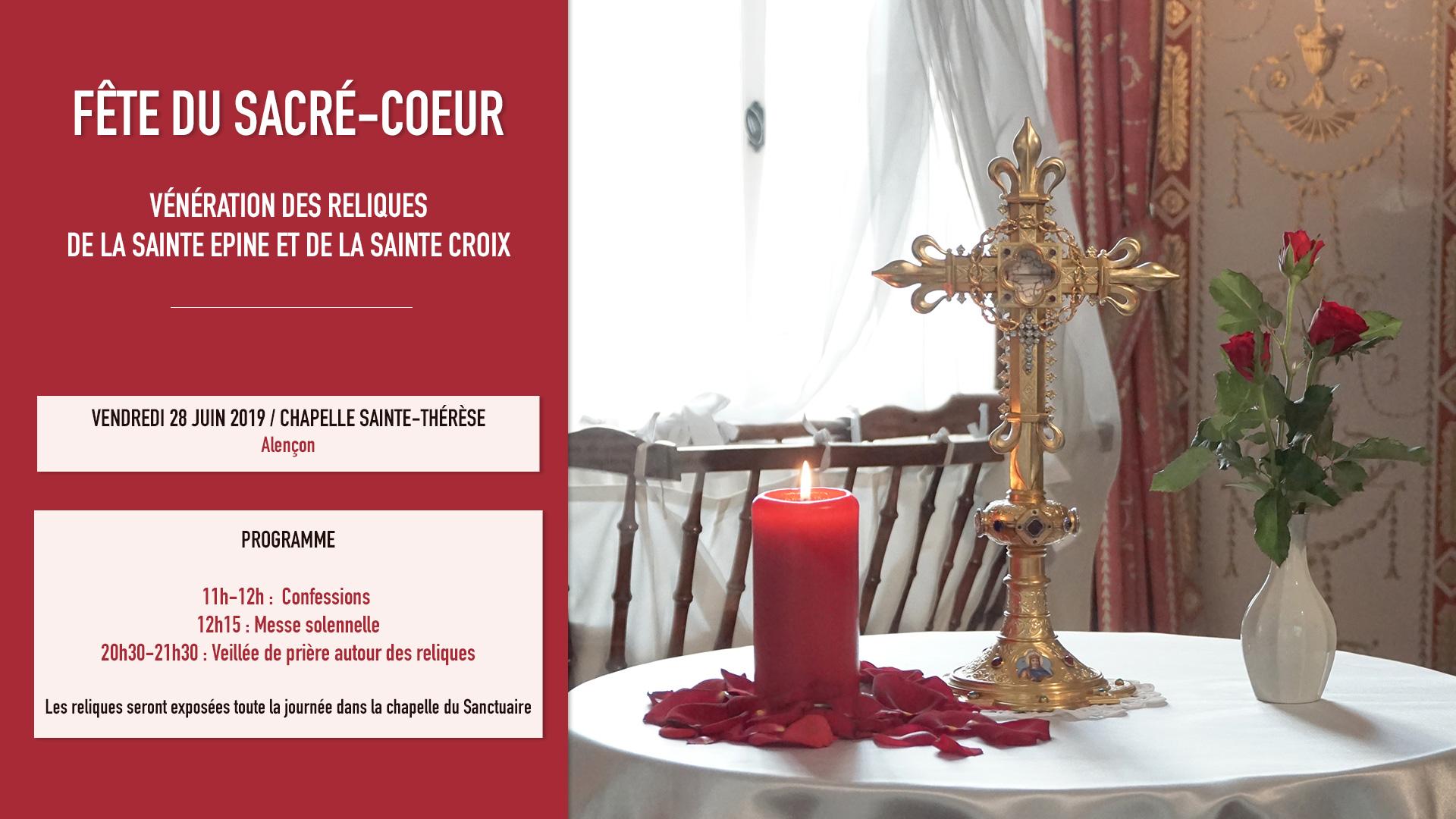 Fête du Sacré-Coeur le 28 juin 2019 à Alençon (61)