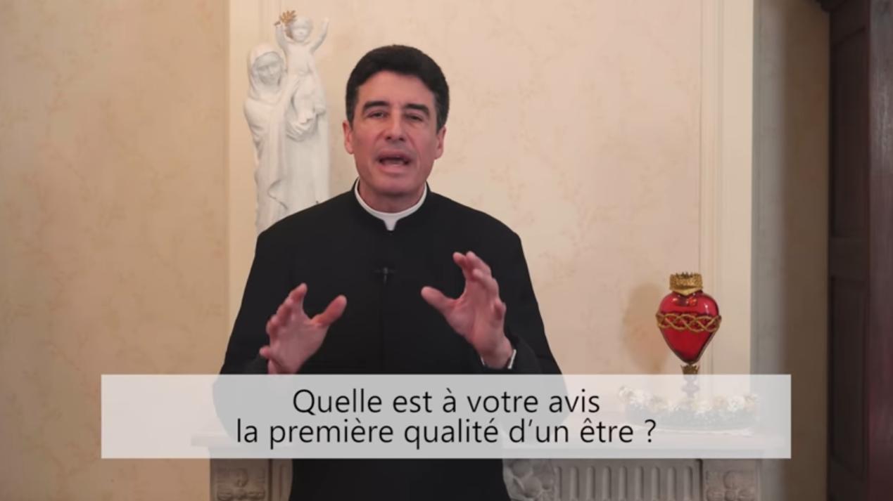 Deux minutes pour vous #58 – Père Michel-Marie Zanotti-Sorkine – «Quelle est à votre avis la première qualité d'un être?»